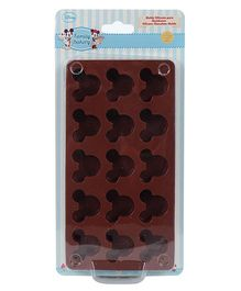 Disney Mickey Chocolate Mould - Brown