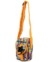 Turbo Printed Shoulder Bag - Multi Color