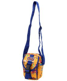 Madagascar Printed Shoulder Bag - Multi Color