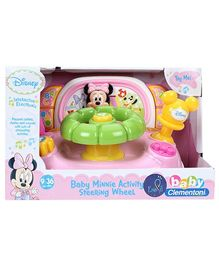Disney Minnie Mouse Activity Wheel Musical Toy - English And Spanish