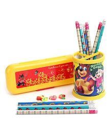 Mr. Clean Stationery Set - Yellow