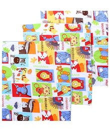 Mee Mee Printed Changing Mat Multicolour - Set Of 3