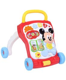 Mickey Mouse And Friends Activity Walker - Red