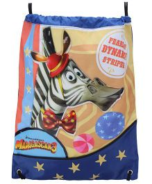 Madagascar Drawstring Bag Melman Print - Multicolour