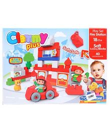 Clemmy Plus Play Set Fire Station