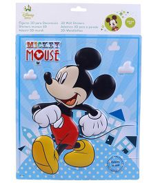 Mickey Mouse And Friends 3D Wall Sticker - Small