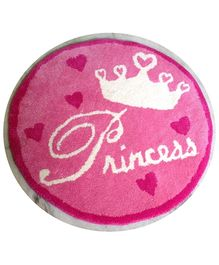 Fly Frog Room Mat Pink - Princess Theme