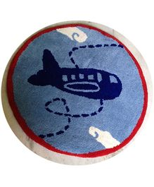 Fly Frog Room Mat Blue - Aeroplane