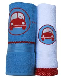Fly Frog Towel Car Design - Set of 2