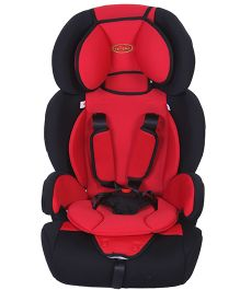 1st Step Car Seat - Red And Black