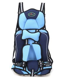 1st Step Booster Car Seat - Blue