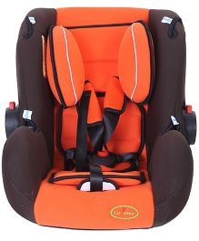 1st Step Car Seat Cum Carrycot With Rocking Function - Orange