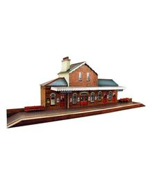 The CityBuilder Railway Station Model Making Kit