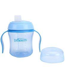 Dr Browns Soft Spout Training Cup Blue - 170 ml