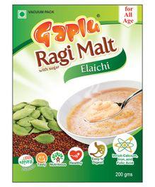 Gaplu Ragi Malt Elachi Flavour - 200gm