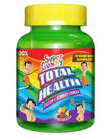 Super Gummy Total Health Calcium Plus Vitamin D3 - 30 pieces