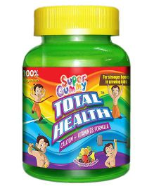 Super Gummy Total Health Calcium Plus Vitamin D3 - 60 pieces