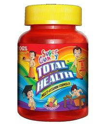 Super Gummy Total Health Multi Vitamin Formula - 60 Pieces