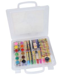 Mitashi Skykidz 67 Pieces Colour Box Art Set - White