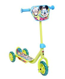 Disney Three Wheel Scooter Green - Mickey Mouse