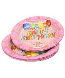 Karmallys Paper Plates Balloon Print - Pack of 10