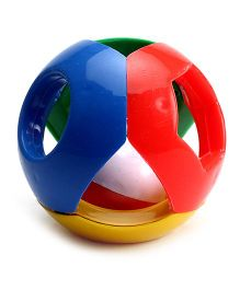 Lovely Funny Ball Rattle - Multi Colour