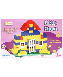 Lovely Little Home Blocks Multicolor - 86 Pieces