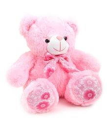 Dimpy Stuff Bear Soft Toy Pink - Height 41 cm