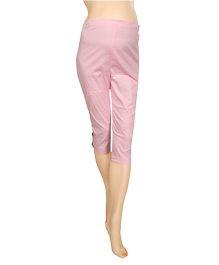 Mama & Bebe Solid Capri - Pink
