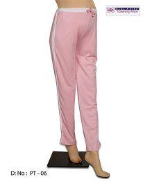 Mama & Bebe Solid Track Pants - Pink