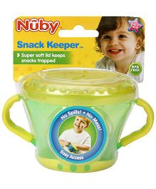 Nuby Snack Keeper - Green