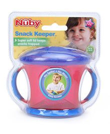Nuby Snack Keeper Pink - 240 ml
