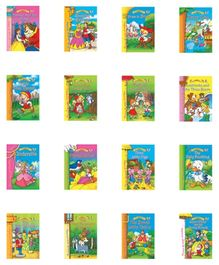 Jolly Kids My Golden Book Of Fairy Tales  - Set of 16
