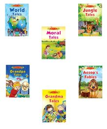Jolly Kids Book Timeless Stories - Set of 6