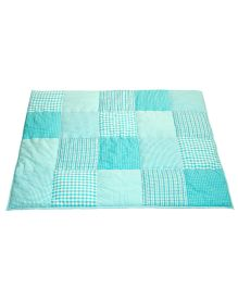 Taftan European Brand 5 layer Padded Play Mat Turquoise Patch