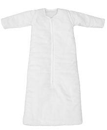 Taftan European Brand ORGANIC Full Sleeve Adjustable Sleeping Bag White