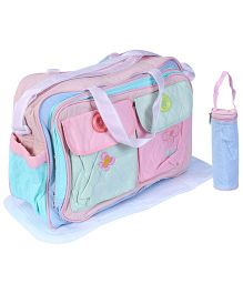 Fab N Funky Mother Bag Set Multicolor
