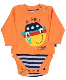 FS Mini Klub Full Sleeves Onesie - Orange