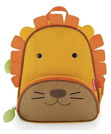 Skiphop Zoo Backpack Orange - Lion Design