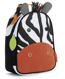 Skiphop Zoo Backpack Multicolor - Zebra Design