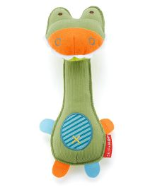 Skiphop Squeeze Me Rattle Green - Crocodile