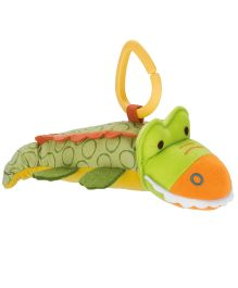 Skiphop GS Stroller Toy Crocodile - Green