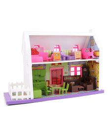 Toyzone My Little Doll House - 34 Pieces