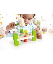 Hape Wooden Little Pounder - Multi Colour