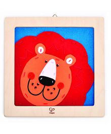 Hape Wooden Frame Laughing Lion Embroidery Kit