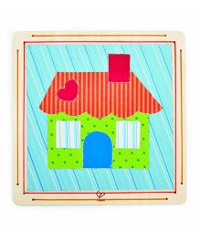 Hape Wooden Frame Welcome Home Collage Kit
