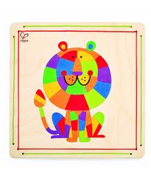 Hape Wooden Frame King of the Jungle Sand Art