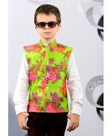 Active Kids Wear Three Piece Party Wear Set - Floral Print