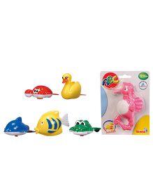 Simba Baby Plastic Wind Up Swimming Animals