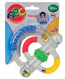Simba ABC Turning Rattle - Multi Colour